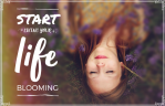StartLivingYourLifeBlooming-ebook cover